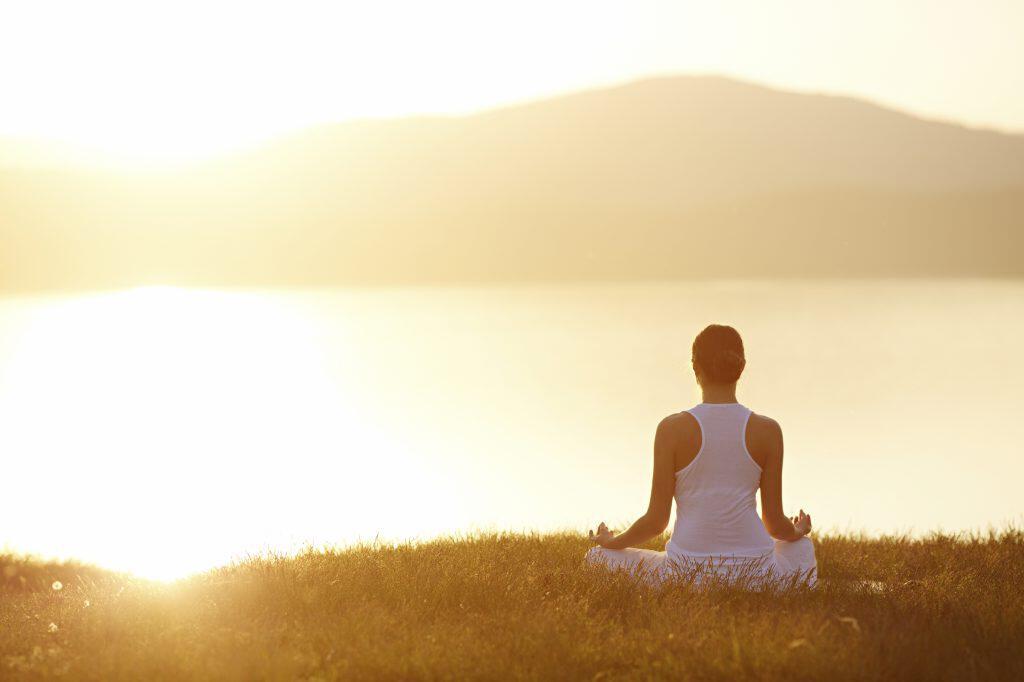 controllo della respirazione con la meditazione