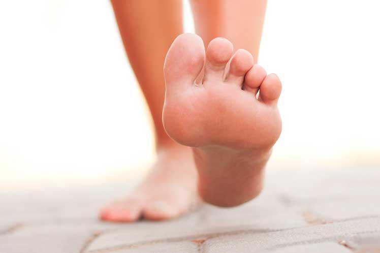 I piedi per la diagnosi del corpo