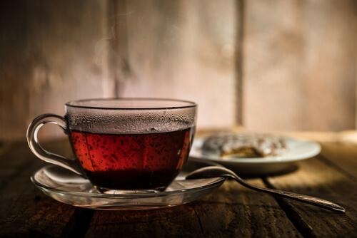 Come perdere peso con il té nero